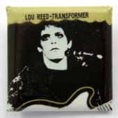 Lou Reed - 'Transformer' Square Badge
